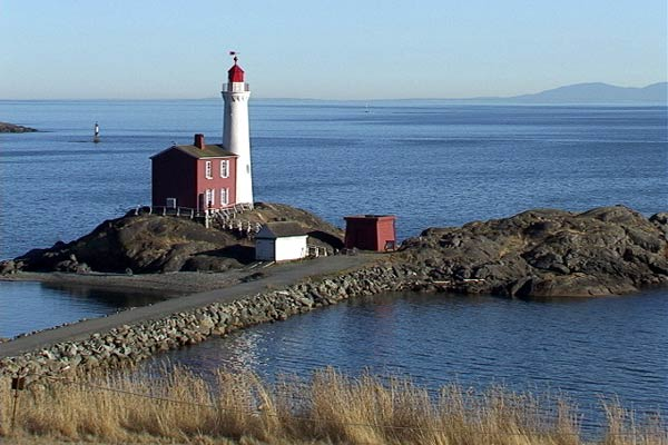 Fisgard Lighthouse at Fort Rodd Hill Victoria BC