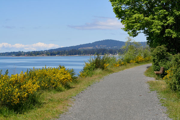 Galloping Goose Trail in Sooke