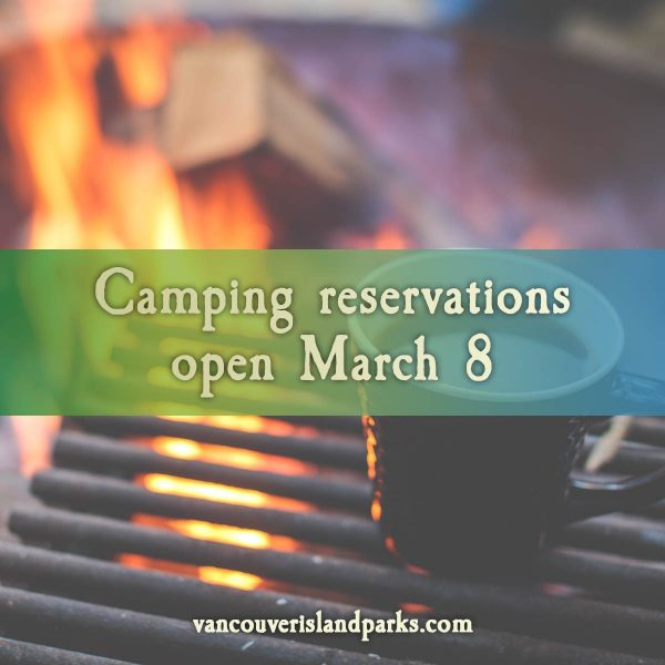 Camping Reservations Open March 8, 2021